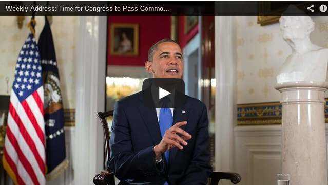 President's Weekly Address is on Immigration Reform