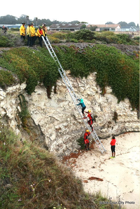Successful Natural Bridges Cliff Rescue Yesterday