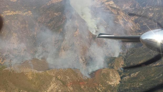 Tassajara Fire at 169 Acres