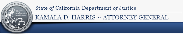 Attorney General Kamala D. Harris Announces Arrests in State Contract Fraud Scheme