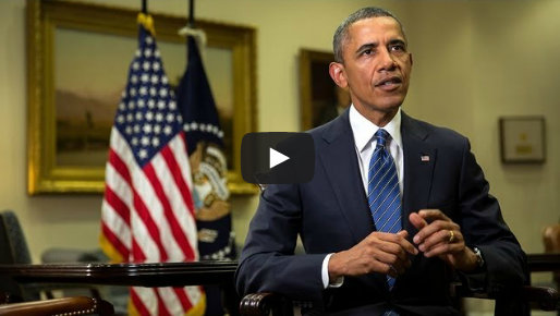 Weekly Address: Calling for Limited Military Action in Syria