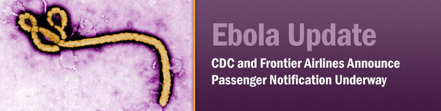 CDC and Frontier Airlines Announce Passenger Notification Underway