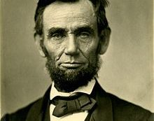 A Bit of Wisdom from Abraham Lincoln 156 Years after His Death.