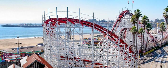 Boardwalk's Giant Dipper Celebrates 95 Years and 66 Million Riders