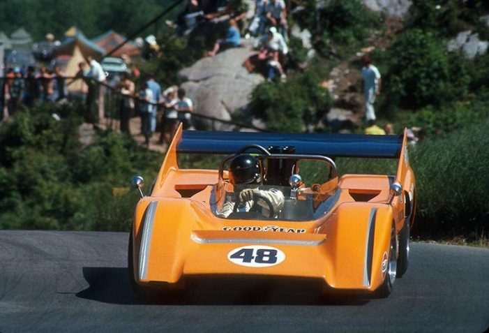 Mika Häkkinen to Drive the Historic 1970 McLaren M8D Can-Am 'Batmobile' at Rolex Monterey Motorsports Reunion