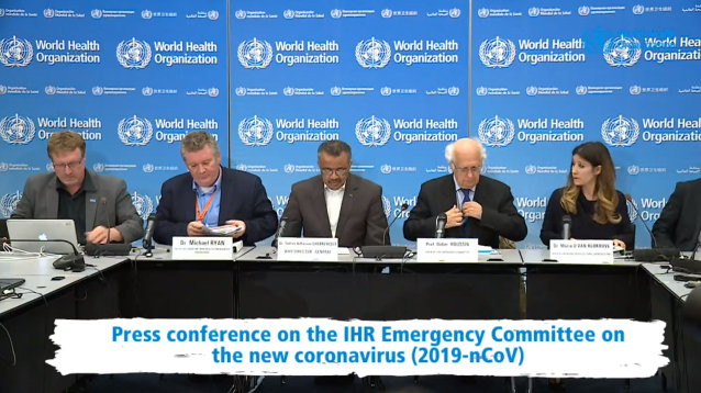 WHO Declares the New Coronavirus Outbreak a Public Health Emergency