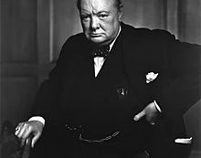A Bit of Wisdom from Churchill on Life's Battles