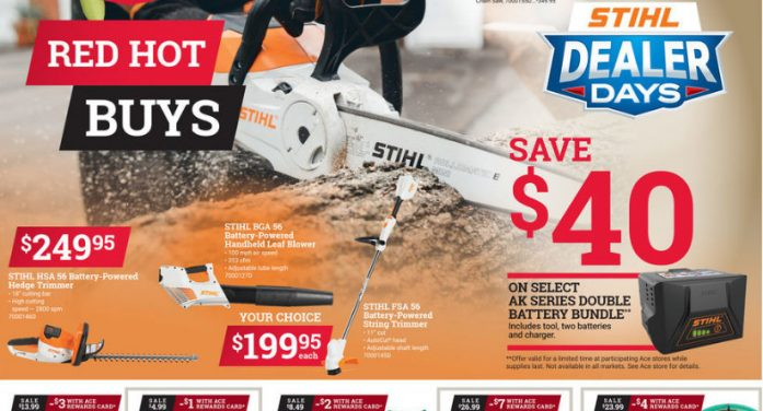 May Red Hot Buys Your Local Ace Hardware