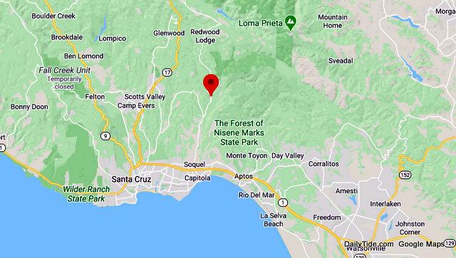 Traffic Update….Injury Vehicle vs Tree Collision Near Soquel San Jose Rd / Citron Dr