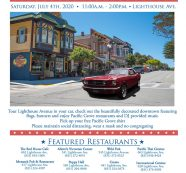 Pacific Grove Fourth of July Drive & Dine is Jul 4 from 11:00 AM to 2:00 PM