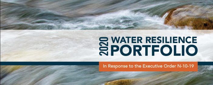 Governor Newsom Releases Final Water Resilience Portfolio