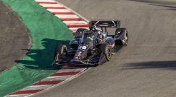 NASCAR Champion Jimmie Johnson Completes Indy Test at WeatherTech Raceway Laguna Seca