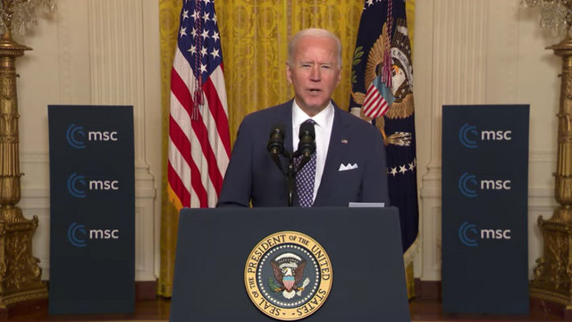 President Biden at the 2021 Virtual Munich Security Conference