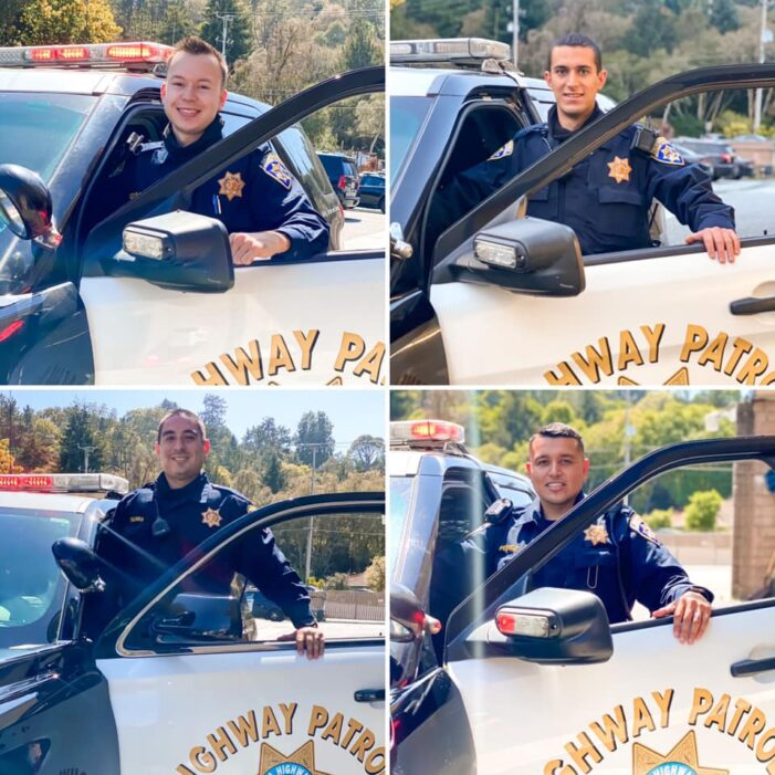 Santa Cruz CHP Welcomes New Officers