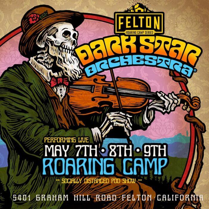 Dark Star Orchestra at Roaring Camp Railroads May 7 – 9