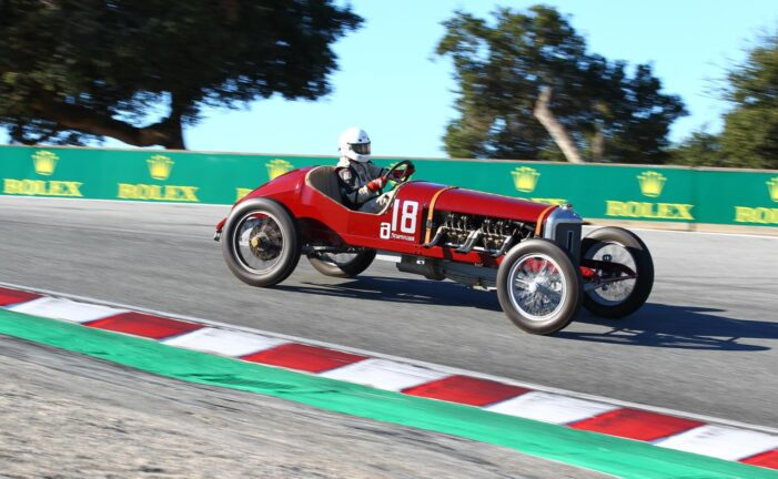 Ragtime Racers Celebrate Pre-1920 Achievements On and Off the Track at Rolex Monterey Motorsports Reunion