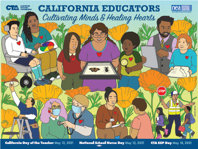 California Educators Kick Off May With Celebrations Honoring Teachers, Education Support Professionals, and School Nurses