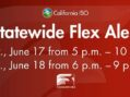 Flex Alert for Possible Power Outages Extended a Second day Through Friday!