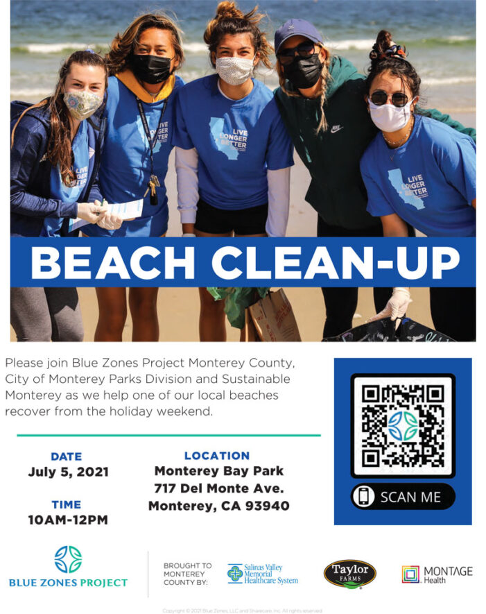 July 5th, Del Monte Beach Clean-Up