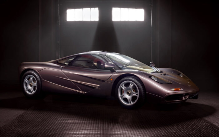 One-Off, Time Capsule McLaren F1 Announced for Gooding & Company's Pebble Beach Auctions