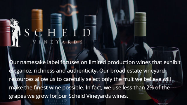 Scheid Family Wines Reports Year End Results