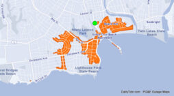 1,313 PG&E Customers Without Power in Santa Cruz.  6:30pm Est Restoral Time.