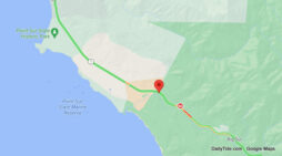 Traffic Update…..Possible Injury Overturned Vehicle Collision Near Hwy 1 & Andrew Molera State Park
