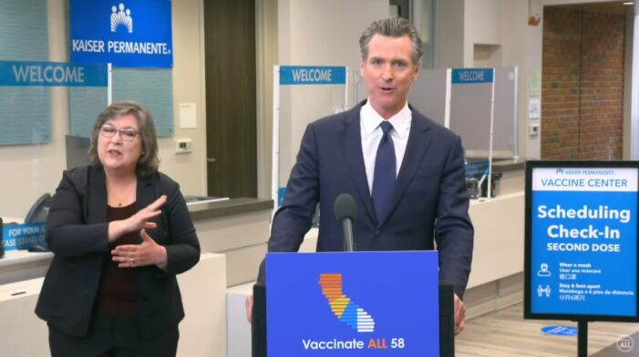 California Implements Measures to Encourage State Employees and Health Care Workers to Get Vaccinated