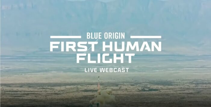 Blue Origin Safely Launches Four Commercial Astronauts to Space and Back