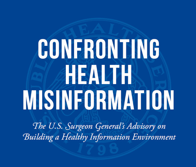 """Government """"Helping Social Media Networks Flag Misinformation"""" on Health & Other Issues"""