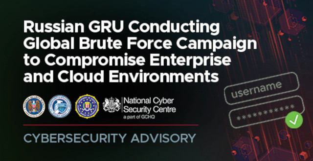 NSA, Partners Release Cybersecurity Advisory on Brute Force Global Cyber Campaign
