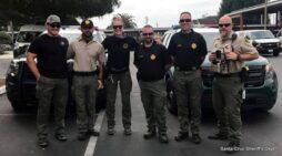 Santa Cruz Sheriff's Deputies Assisting on Dixie Fire