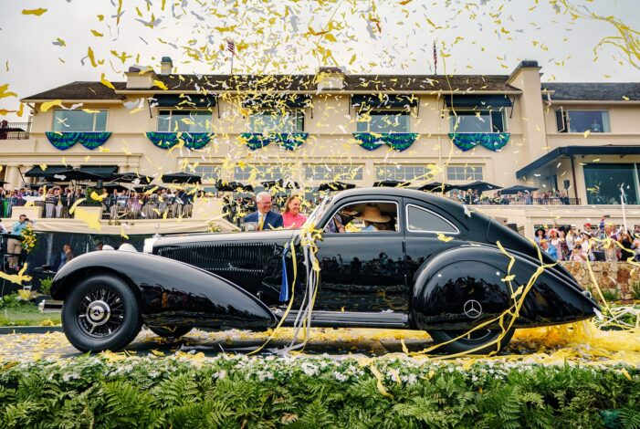 1938 Mercedes-Benz 540K Autobahn Kurier Takes Best of Show at Pebble Beach Concours