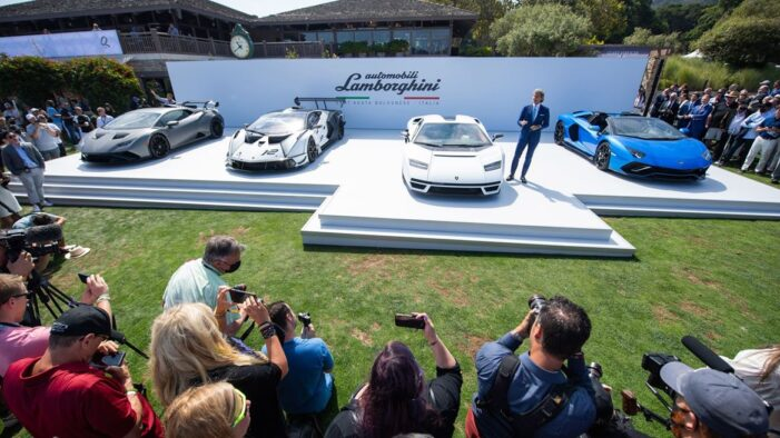 Lamborghini Kicks Off Monterey Car Week with Countach LPI 800-4 Global Debut at The Quail, A Motorsports Gathering