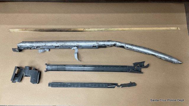 Pipe Bomb Explosion & Carjacking Make for Busy Shift for Santa Cruz Police