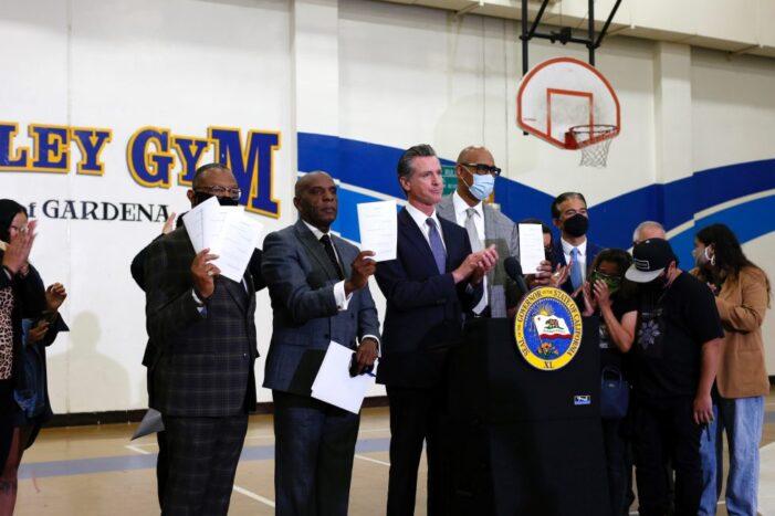 Governor Newsom Signs Policing Reform Legislation