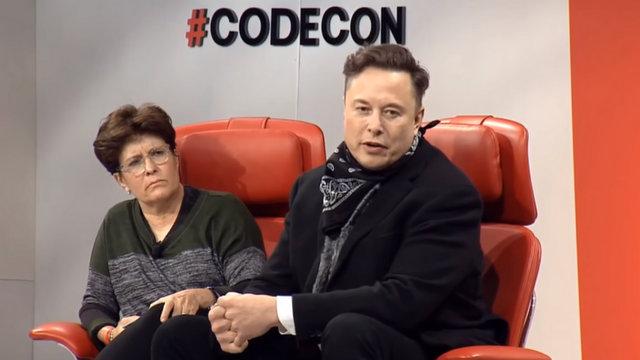 CodeCon 2021 Elon Musk Interview