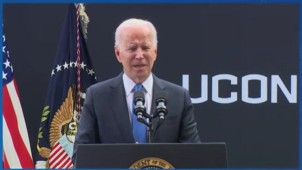President Biden at the Dedication of the Dodd Center for Human Rights