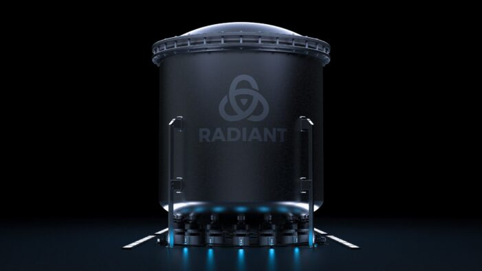 Former SpaceX Engineers Raise $1.2M and Launch Radiant, to Develop Portable, Microreactors for Zero-Emissions Power